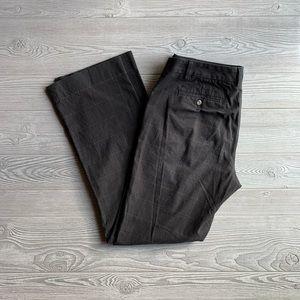 GAP Long Women's charcoal plaid dress pants